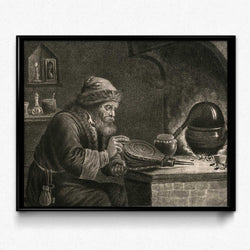 Shop for Biology, Chemistry, Alchemy Vintage Print 6 (VP1010) - Orion Wells