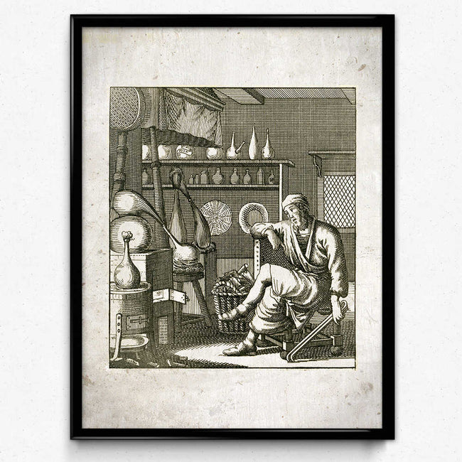 Chemistry Alchemy Vintage Print 7 - VP1049 - Orion Wells