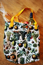 Sac fourre-tout à imprimé vintage Fruit Illustration - Orion Wells