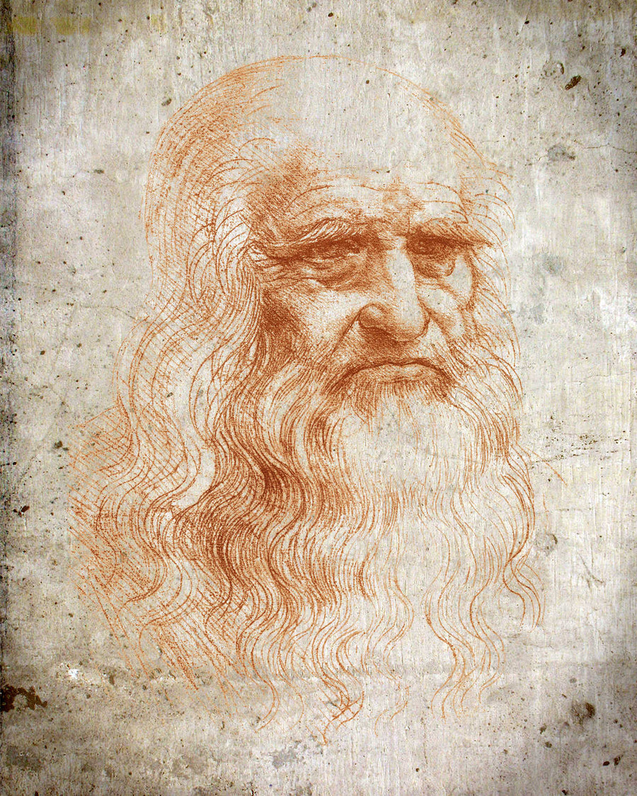 Leonardo da Vinci Vintage Print - Science Art - Science Decor - Art médical - docteur Art - Vintage Office Decor - VP1121 - Orion Wells