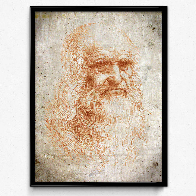 Leonardo da Vinci Vintage Print - Science Art - Science Decor - Medical Art - Doctor Art - Vintage Office Decor - VP1121 - Orion Wells