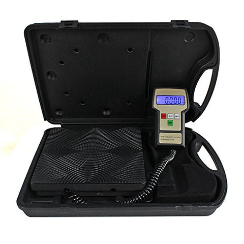 Electronic Refrigerant Charging Scale 220LB