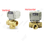 A20: 3 Way Brass Valve Body for Motorized Ball Valve (Pls buy A20 actuator Do not sell separately)