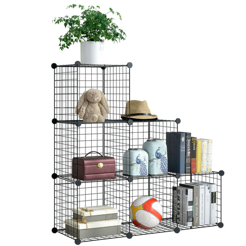 Metal Wire Storage Cubes(6 Cubes)