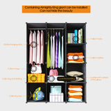 Portable Clothes Closet - Plastic Wardrobe