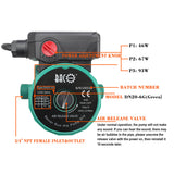 110V 3/4'' Iron Head Circulation Pump