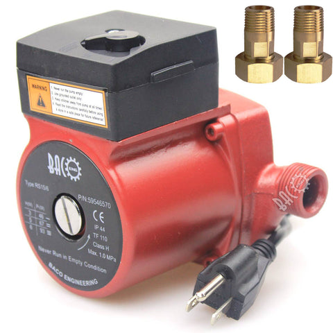 "110V 3/4"" Iron Head Circulation Pump"