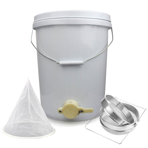Honey Bucket and Beekeeping Filter Kit