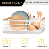 Metal Wire Kitchen Dish Drying Rack
