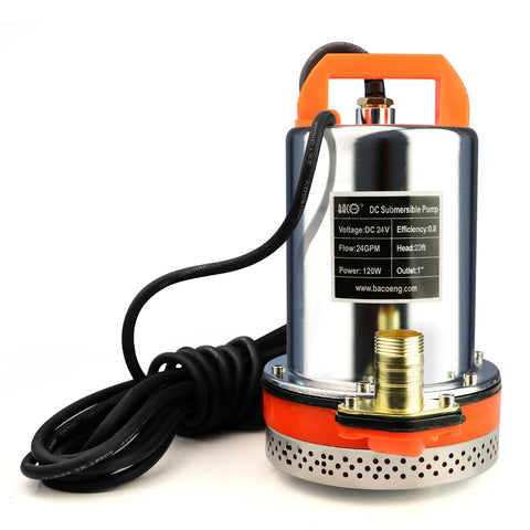 DC SUMP PUMP(24V Zinc Plated)