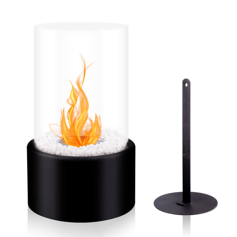 Round Tabletop Fireplace