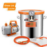 Glass Lid Vacuum Chamber and Vacuum Chamber with Pump