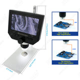 4.3 inch HD LCD Electronic Microscope
