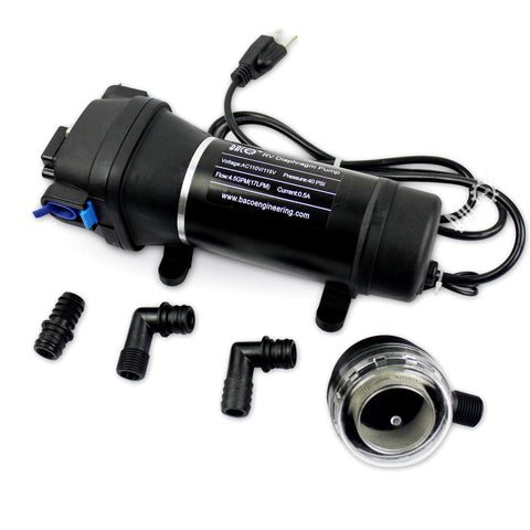 BACOENG on demand pump 110V 40psi