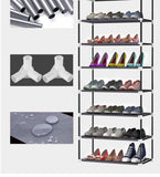 10-Tier Shoe Tower Rack