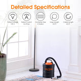 15L/4 Gallon Ash Vacuum Cleaner US/UK Plug