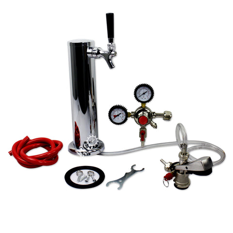 BACOENG Standard Single Tower Keg System Draft Beer Kegerator Conversion Kit