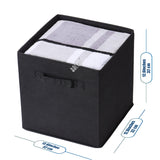 6 Pack Foldable Storage Cube  (Gray、Black、Beige)