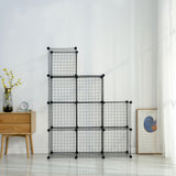 Metal Wire Storage Cubes(9 Cubes)