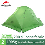 Star River Camping Tent Upgraded Ultralight 2 Person 4 Season Tent With Free Mat NH17T012-T