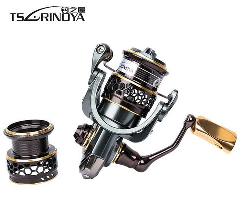 Double Spool Stainless Steel Bearing Ultra-light Lure Spinning Reel Rocky Fishing Reel