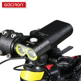 Professional 1600 Lumens Bicycle Light Power Bank Waterproof USB Rechargeable Bike Light Flashlight