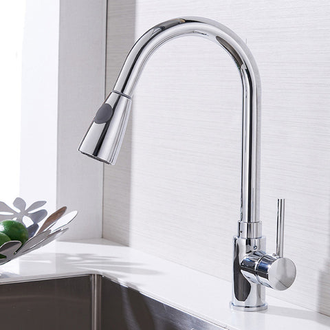 nickel steel kitchen handle are what spray cheap some hole main faucet out brushed quora modern vapsint pull stainless sink qimg down single faucets