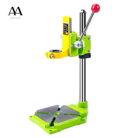 Electric power Drill Press Stand for Drill Workbench Repair Tool Clamp for Drilling Collet Table 35&43mm 0-90 degrees