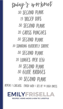 Core Focused Workout