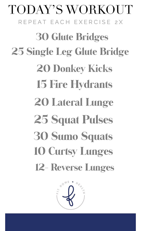 Leg & Booty Killer Workout