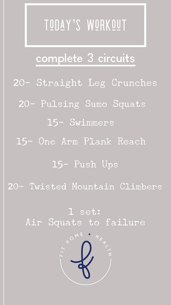 Right & Tight Workout