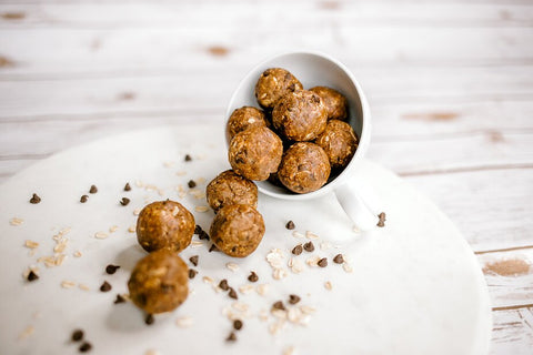 Chocolate Peanut Butter Protein Bites recipe