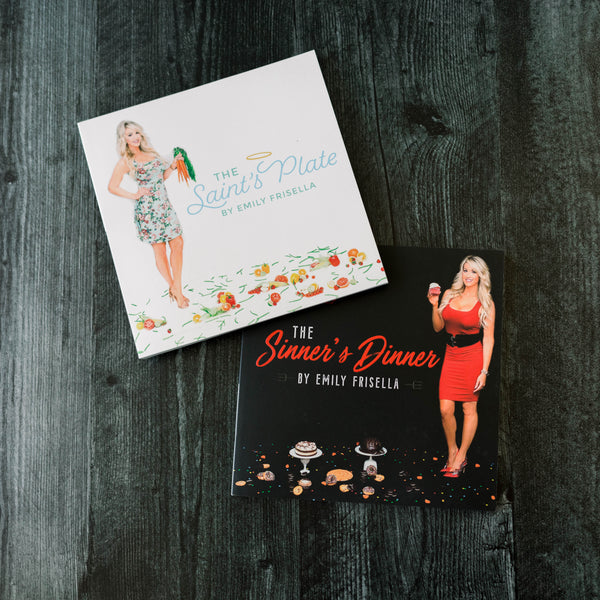 Buy Online The Saints Plate & The Sinners Dinner Cookbook