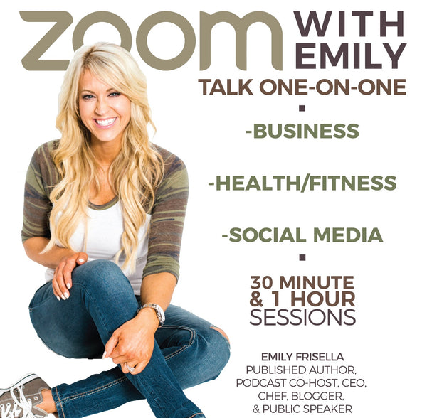 Zoom with Emily- 30 minutes