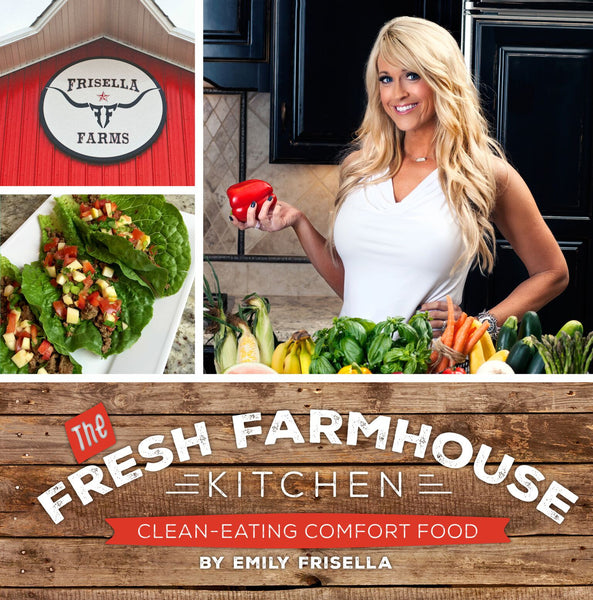The Fresh Farmhouse Kitchen Cookbook- Back in stock November 20th!