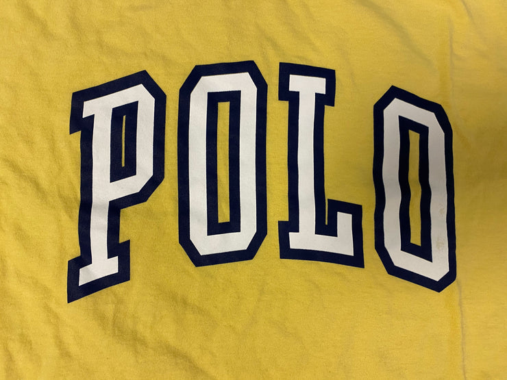 Polo Sport Varsity Logo - Yellow