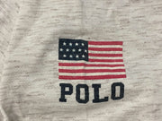 Polo Sport Ringer USA Tee - Heather