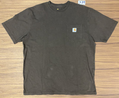 Carhatt Pocket Tee - Brown