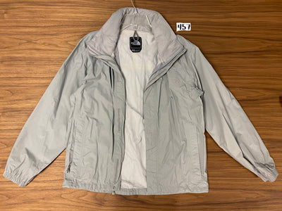 North Face Zip up wind breaker - Grey
