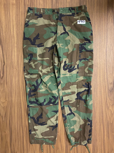 Mens Cargo Army Pants - Army