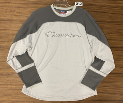 Champion Crewneck Pullover - Grey