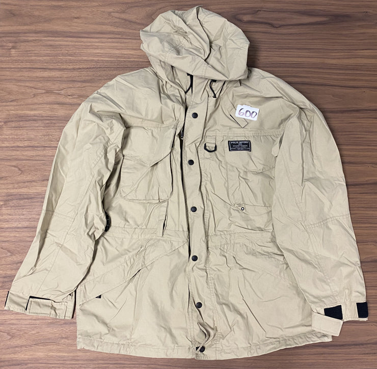 Polo Sport Zip Jacket - Khaki