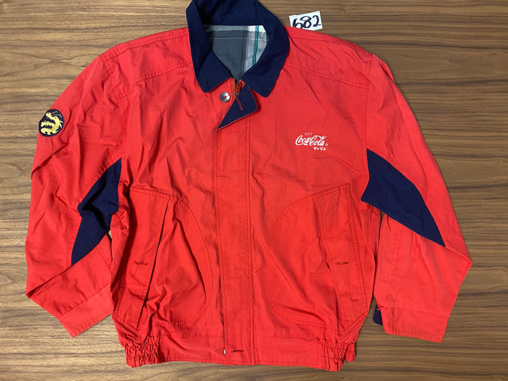No Brand Coca Cola Jacket - Red