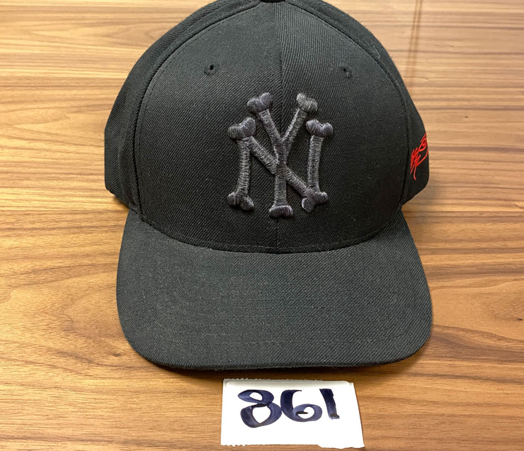SSUR New York Yankees in Bones - Black