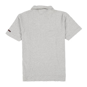 POLO SPORT UNLABELLED SS POLO // GREY