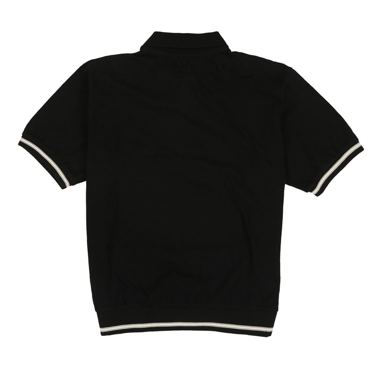POLO SPORT 6B EMB SPELL OUT SS POLO // BLACK