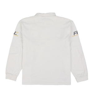 POLO SPORT TEAM POLO SWEATSHIRT // WHITE
