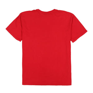 POLO SPORT SHIELD CROSS TEE // RED
