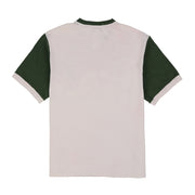 POLO SPORT SHIELD V NECK TEE // OFF WHITE