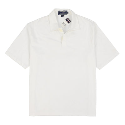 POLO SPORT MADE CANADA SS POLO // WHITE